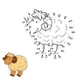 Numbers game (sheep) Royalty Free Stock Photos