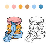 Numbers game, vector set of macaroon Stock Photos
