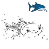 Numbers game, Whale shark Royalty Free Stock Photo