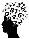 Numbers head Stock Images