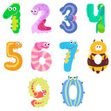 Numbers like insects Royalty Free Stock Photo