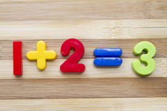 Numbers Magnets Stock Images