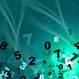 Numbers Mathematics Means Train Educate And Learned Royalty Free Stock Photo
