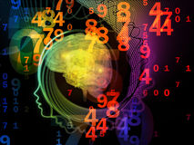 Numbers of the Mind Royalty Free Stock Photography