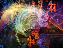 Numbers of the Mind Royalty Free Stock Images