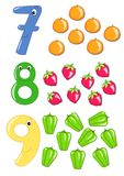 Numbers, part 3 Royalty Free Stock Images