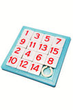 Numbers puzzle Royalty Free Stock Image