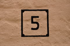 Numbers serie Stock Photo