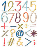 Numbers Royalty Free Stock Photo