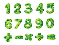 Numbers and signs Royalty Free Stock Image