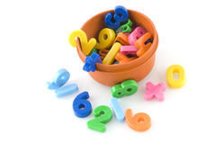 Numbers to play with Royalty Free Stock Photo