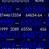 Numbers. Version 2 Stock Photo