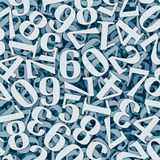 Numbersalad Stock Photo