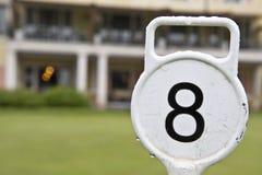 Numer osiem Zdjęcie Royalty Free