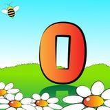 Numera el serie para los cabritos - #00 Foto de archivo libre de regalías