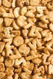 Numera la priorità bassa dei cracker Fotografie Stock Libere da Diritti