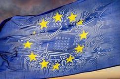 Numeración de Europa imagen de archivo