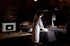 Numeración de la colección única de biblioteca científica de la universidad de St Petersburg fotos de archivo libres de regalías