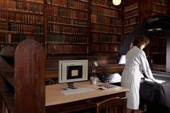 Numeración de la colección única de biblioteca científica de la universidad de St Petersburg imagen de archivo libre de regalías