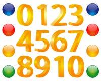Numeral Imagem de Stock