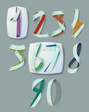 Numerals Stock Photo