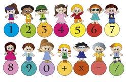 Numeri royalty illustrazione gratis