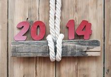 2014 numeri Immagini Stock