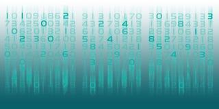 Numeri aumentanti/di cadute Fotografia Stock Libera da Diritti