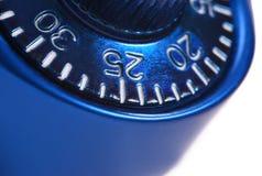Numeri blu Immagine Stock