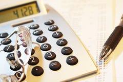 Numeri calcolatori 02. Fotografia Stock