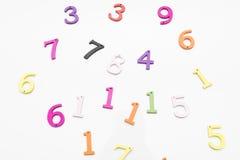 Numeri dei colori Immagine Stock Libera da Diritti