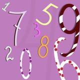 Numeri del fondo Royalty Illustrazione gratis