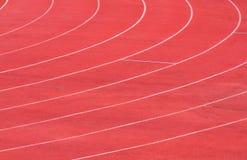 Numeri del vicolo della pista di atletica Immagine Stock Libera da Diritti