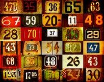 Numeri della Camera illustrazione di stock