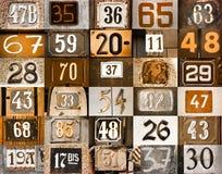 Numeri della Camera royalty illustrazione gratis