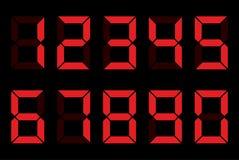 Numeri della cifra Fotografia Stock Libera da Diritti