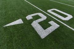 Numeri di calcio Immagini Stock Libere da Diritti