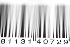 Numeri di codice a barre Immagine Stock