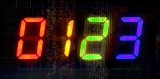 Numeri di Digitahi Fotografie Stock