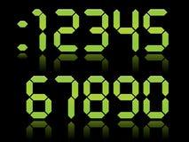 Numeri di Digitahi illustrazione vettoriale