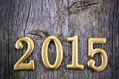 Numeri di nuovo anno Immagini Stock