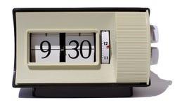 Numeri di orologio di vibrazione Fotografia Stock Libera da Diritti