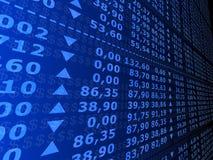 Numeri di riserva Immagini Stock