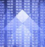 Numeri di riserva elettronici Immagini Stock