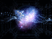 Numeric Abstraction Royalty Free Stock Photo