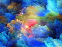 Numeric Colors Stock Image