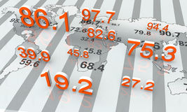 Numeric data Stock Photos