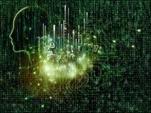 Numeric Intelligence Royalty Free Stock Image