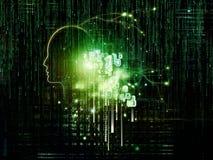 Numeric Intelligence royalty free illustration