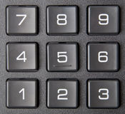 Numeric keypad Royalty Free Stock Image